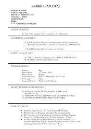 Sample Government Resume by Resume Format For Usa Resume For Your Job Application