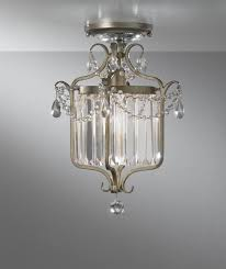 Crystal And Gold Chandelier Crystal And Gold Globe Semi Flush Ceiling Light Gold Globe Semi