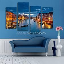 2016 real wall art beautiful venice city canvas paintings modern