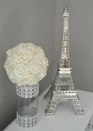 eiffel tower table decorations eiffel tower centerpiece parisians theme decor wedding