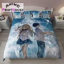 Japanese Comforter Set Anime Bed Sets High Quality Printed U2013 Anime Print House