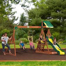 Backyard Discovery Montpelier Cedar Swing Set 9 Best Swing Sets Images On Pinterest Backyard Ideas Play Sets