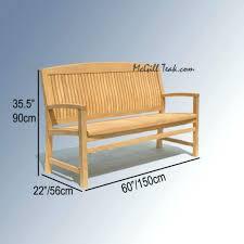 Teakwood Patio Furniture Wine Barrel Patio Furniture Teak Wood Outdoor Bench Tenafly