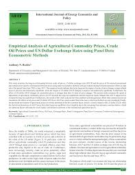 cuisine uilibr commodity food prices review and empirics pdf available