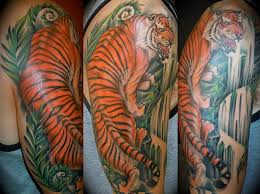 tiger half sleeve for design idea for and