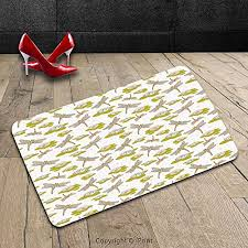 Dragonfly Indoor Outdoor Rug Custom Machine Washable Door Mat Dragonfly By River Side Flowers