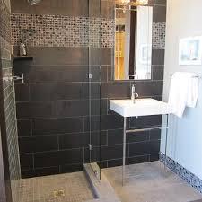 Black Ceramic Floor Tile Ceramica Tecla Serie 35 Ceramic Bathroom Sink With Overflow Design