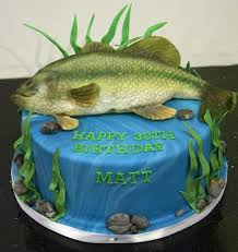 fishing cake ideas birthday cakes images awesome fish birthday cake for fish