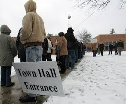 Baldwin Door Stops Huizenga U0027s Town Hall Runs More Than 4 Hours Long As Constituents