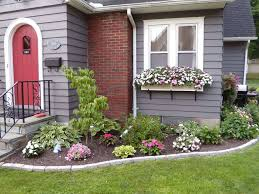 Simple Flower Garden Ideas Simple Flower Bed Ideas Front Of House But Looks Interesting