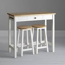 Kitchen Bar Table And Stools Lewis Adler Bar Table Stools White Oak Lewis