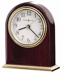 Small Desk Clock Howard Miller 645 446 Desk Clock The Clock Depot