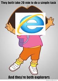 Dora The Explorer Meme - dora the internet explorer weknowmemes