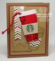 starbucks gift card holder stampin u0027 up demonstrator ann m