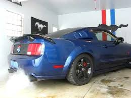2006 mustang mods 2006 mustang gt with road h pipe and bassani exhaust