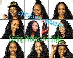 ripple hairstyle crochet braids kima ripple deep protective style youtube