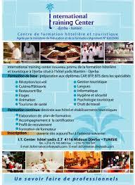 centre de formation cuisine tunisie formation hôtel djerba yadis hotels tunisie encourage la