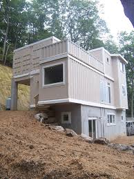 container home design with eco friendly and easy to build