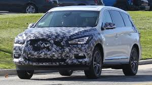 nissan infiniti 2016 2016 infiniti qx60 spied with front and rear makeup