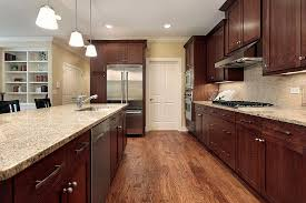 brown kitchen cabinets with backsplash will a color scheme work for your kitchen