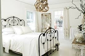 bedrooms cute shabby chic bedroom with white bed and unique