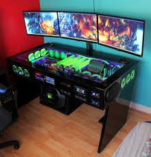Gaming Home Decor Computer Table Computer Desk Gaming Home And Garden Decor