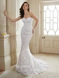 wedding dress no tolli two wedding dress tulle lace mermaid trumpet