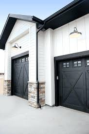 black garage door paint color sherwin williams tricorn bunchs