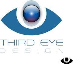 modern logo design for third eye design by natan design