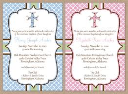 12 personalized and printed baby boy or cross baptism