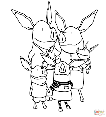 olivia u0027s family coloring page free printable coloring pages