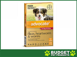 advocate for dogs large red 10 25kg 6 pack 96 48