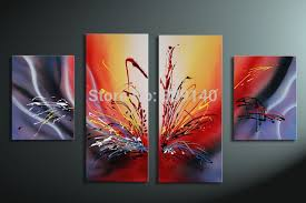abstract decorative oil painting canvas modern artwork quality