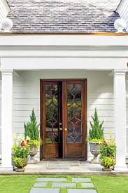 Southern Home Styles Stylish Looks For Front Entry Doors Southern Living