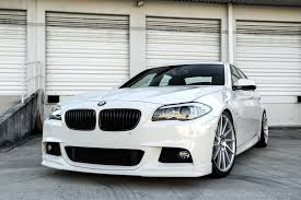 diamond bmw diamond white bmw 535i with ground effects and niche wheels
