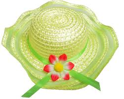 easter bonnets summer easter bonnets hat 3 colours with flower for fancy