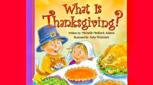 what is thanksgiving book read aloud