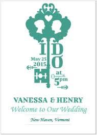 Unique Wedding Programs Wedding Program Examples Outside The Box Wedding