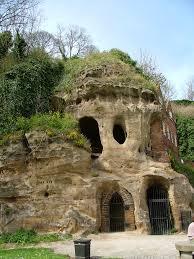 castle caves nottingham castle