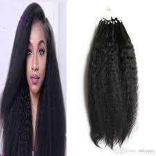 micro ring extensions yaki human hair micro loop human hair extensions 100g