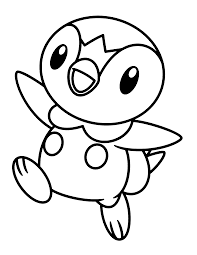 pokemon piplup coloring pages www bloomscenter com