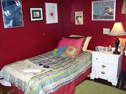 maroon wall paint bedroom awesome grey brown wood glass modern boys room paint