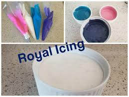 how to make royal icing how to color royal icing youtube
