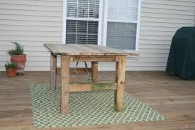 remodelaholic how to build a rustic outdoor dining table guest