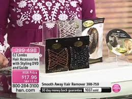 ez combs stretchable hair accessories with styling dvd and guide from ez