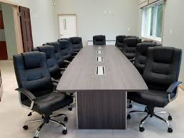 Boat Shaped Boardroom Table Furniture Office Boat Shaped Conference Table With Brushed