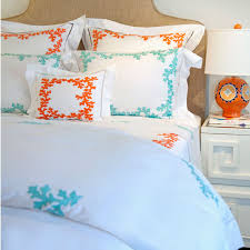 Light Blue Coverlet Bedroom Cute Coral Bedspread For Nice Decorative Bedding Design