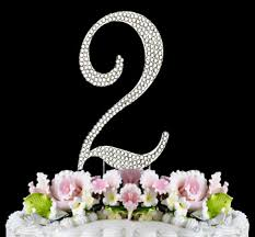 rhinestone number cake toppers rhinestone number cake toppers for celebrations just jen