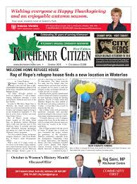 kitchener citizen west edition october 2016 by kitchener