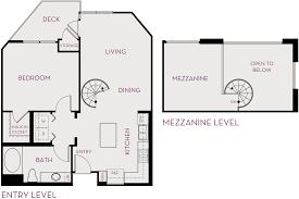1 bedroom with loft floor plans metropolis spacious new apartments in irvine